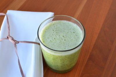 Intense Green Apple Smoothie