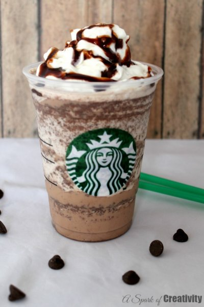 Double Chocolaty Chip Creme Frappuccino Blended Creme, Nonfat Milk (Grande)