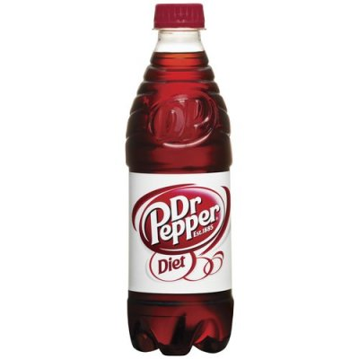 16 oz Dr Pepper (without ice)