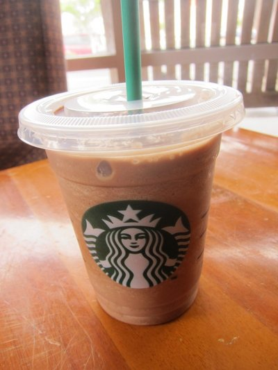 Mocha Frappuccino Blended Coffee, Soy Milk (Grande)