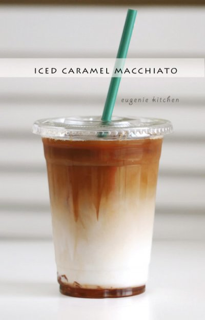 Iced Vanilla Coffee, large