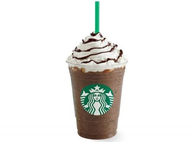 Java Chip Frappuccino Blended Coffee, Soy Milk (Grande)