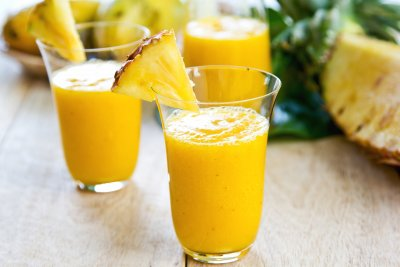 Mango Pineapple Light Fruit Smoothie, Large
