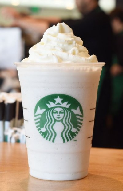 Coffee Frappuccino Blended Coffee, Soy Milk (Venti)