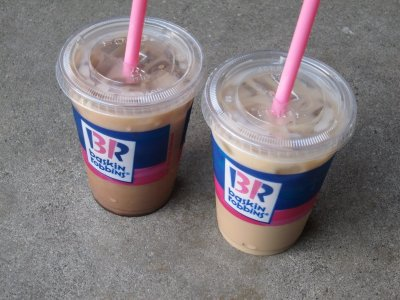 Iced Cappy Mocha, Medium