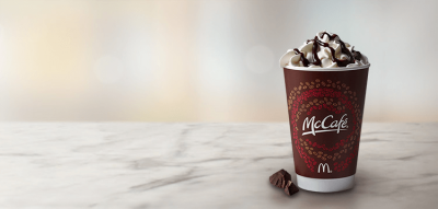 McCafe White Hot Chocolate (Medium)