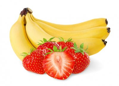Strawberry Banana Premium Fruit Smoothie, Large