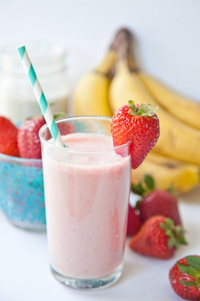 Strawberry Banana Yogurt Smoothie