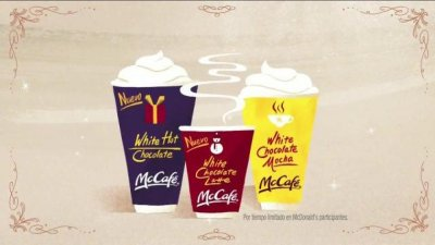 McCafe White Hot Chocolate (Large)