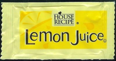 Lemon Juice, packet