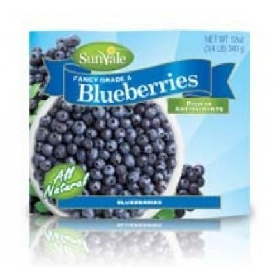 Organic Blueberries, Fancy Grade A