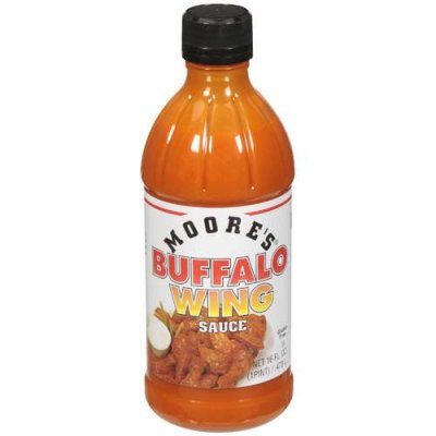 Hot Buffalo Wing Sauce, 113 grams