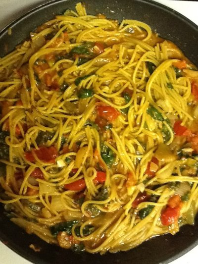 Vegetable Pasta Medley
