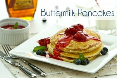 Buttermilk Hotcake (no topping), (1 hotcake only)