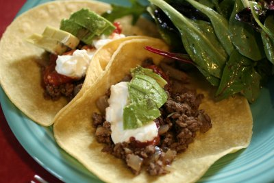 Crispy Beef Taco (ground beef)