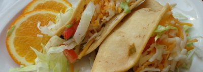 Crispy Chicken Taco (stewed chicken)
