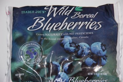 Wild Boreal Blueberries