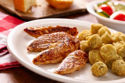Country Dinner Plate-Chicken Tenderloins, Grilled