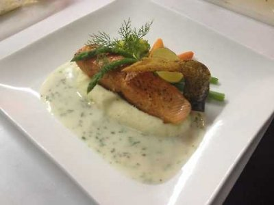 Grilled Wildfire Salmon Filet (a la carte)
