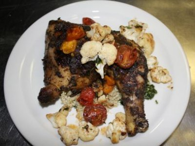 Roasted Jerk Chicken - Thigh