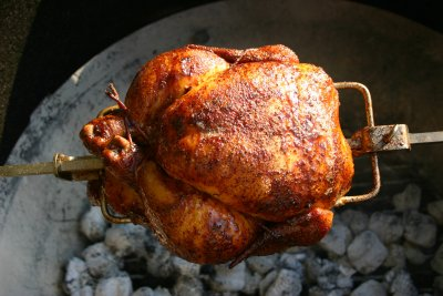 Rotisserie Chicken - Three Piece Dark Skinless (2 Thighs & Drumstick)