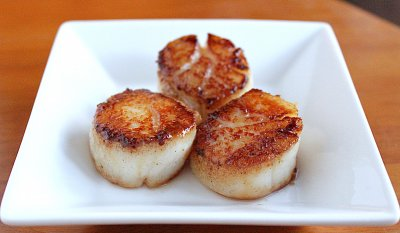 Sea Scallops & Shrimp