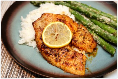 Fit Favorite Lemon Pepper Tilapia