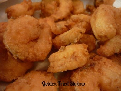 Golden-Fried Shrimp - Early Dinner Deal