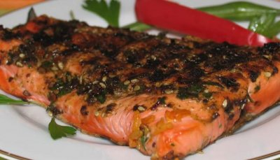 Grilled Salmon, Small