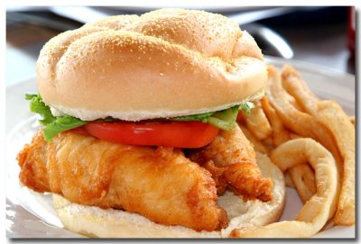Small Fish Sandwich