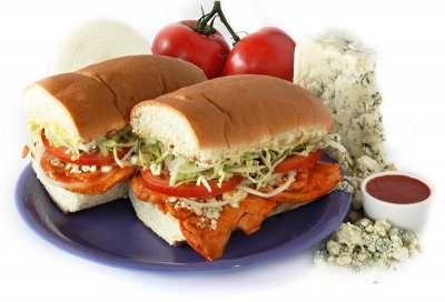 Chicken & Cheese Hoagie - Half