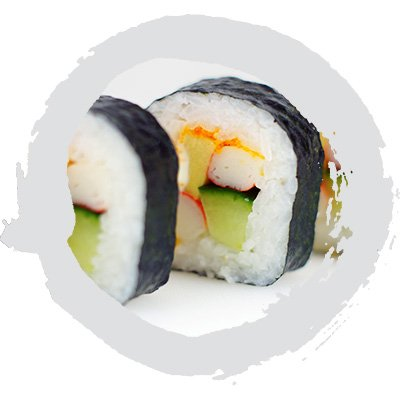 Mango California Roll (8 piece)