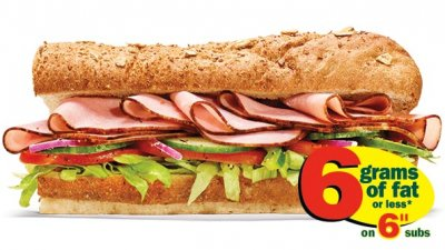 55 Plus Sandwich and Such-Ham and Cheese