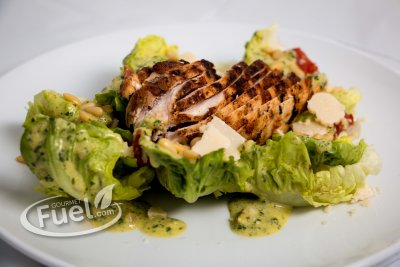 Classic Caesar Salad with Grilled Chicken, lunch