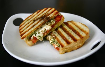 Caprese with Chicken Panini