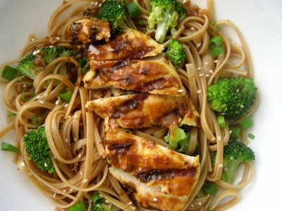Restaurant, Chinese, chicken chow mein