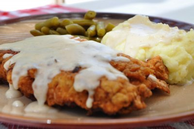 Country Fried Steak with Gravy (no sides) (1 each)