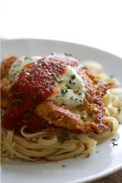 Chicken Parmesan, Regular