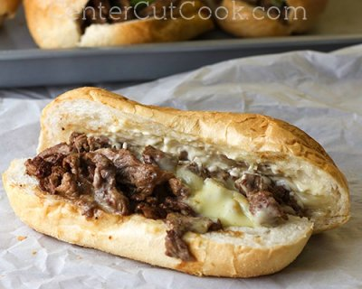 Steak and Cheese Hoagie - Half