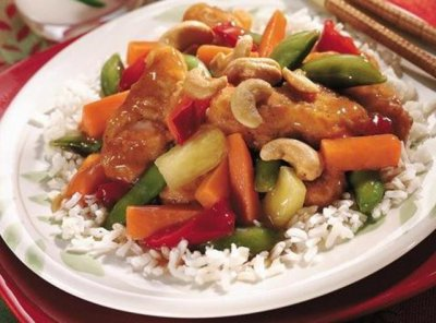 Sweet & Sour Original with Chicken (with white rice)