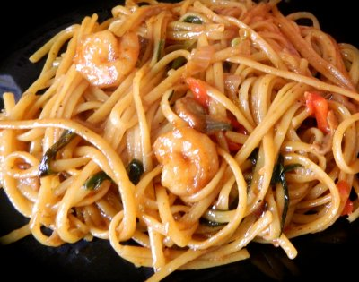 Lo Mein Small with Shrimp
