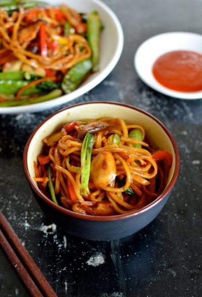 Lo Mein Original with vegetables & Tofu (steamed)