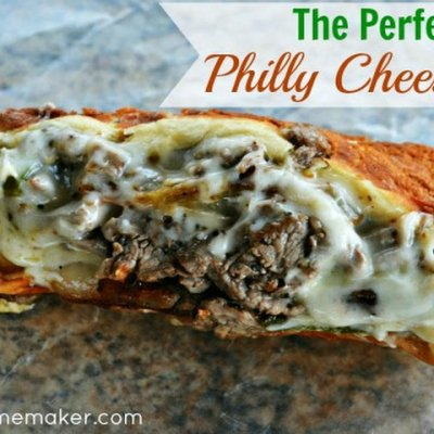 Philly Cheese Steak w/ American