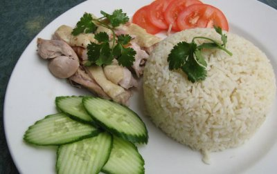 Sesame Small with Chicken (with white rice)