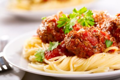 Spaghetti with Meatballs, Dinner