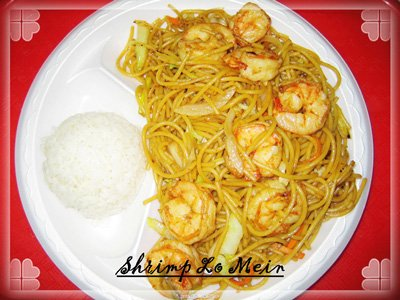Teriyaki Small with Shrimp (with white rice)