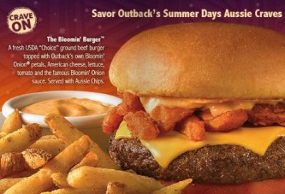 The Outback Burger