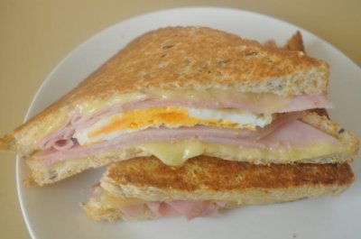 Grilled Ham & Cheese, Large