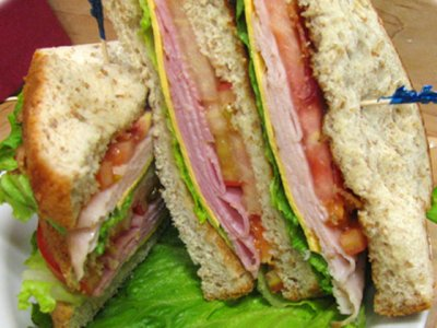 Ham and Turkey BLT