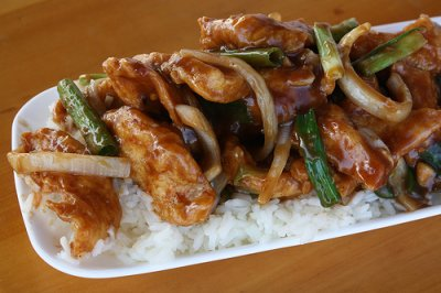 Mongolian Original with Chicken (with white rice)